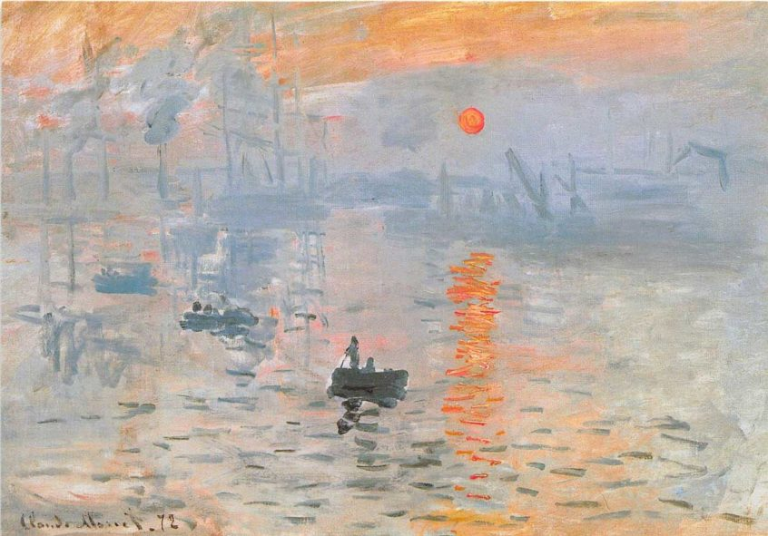 claude monet impression sunrise exhibit canberra nga national gallery art canberra canbhol