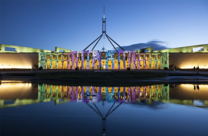 canberra enlighten festival short term holiday accommodation budget family event balloon spectacular parliament house